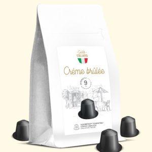 CRÈME BRÛLÉE AROMATYZOWANA KAWA w kapsułkach typu Nespresso Gusto italiano Crème brûlée